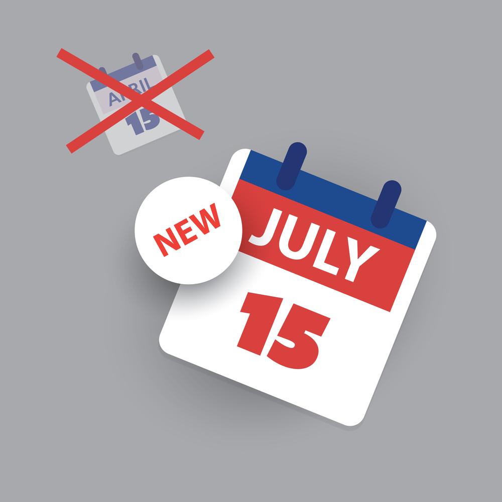 New tax deadline July 15